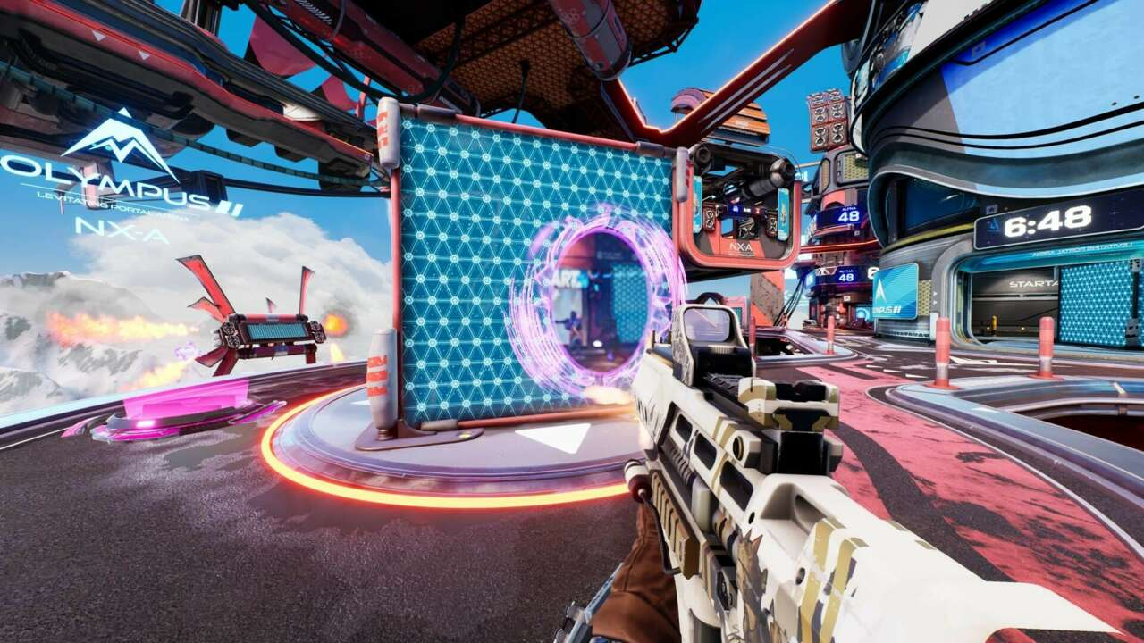 Portal Shooter Splitgate 1.0 Launch Delayed To August As Dev Receives $10 Million To Fix Congested Servers - GameSpot