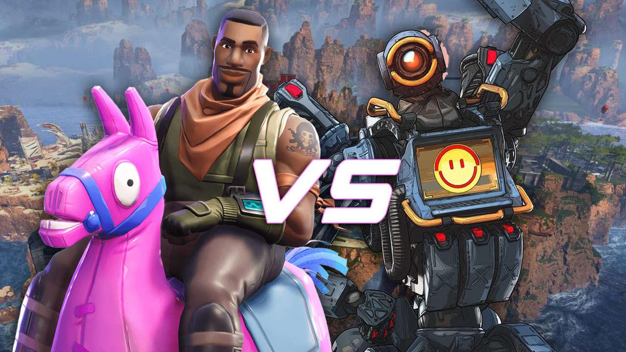 Apex Legends Vs Fortnite Current Player Count Fortnite Vs Apex Legends Comparing Two Titans Of Battle Royale Gamespot