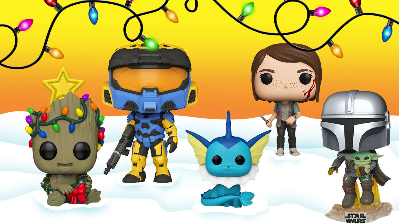 Marvel Christmas Funko Pops 2021 Best Funko Pop Gifts For Christmas 2020 Halo Infinite Cyberpunk 2077 And More Gamespot
