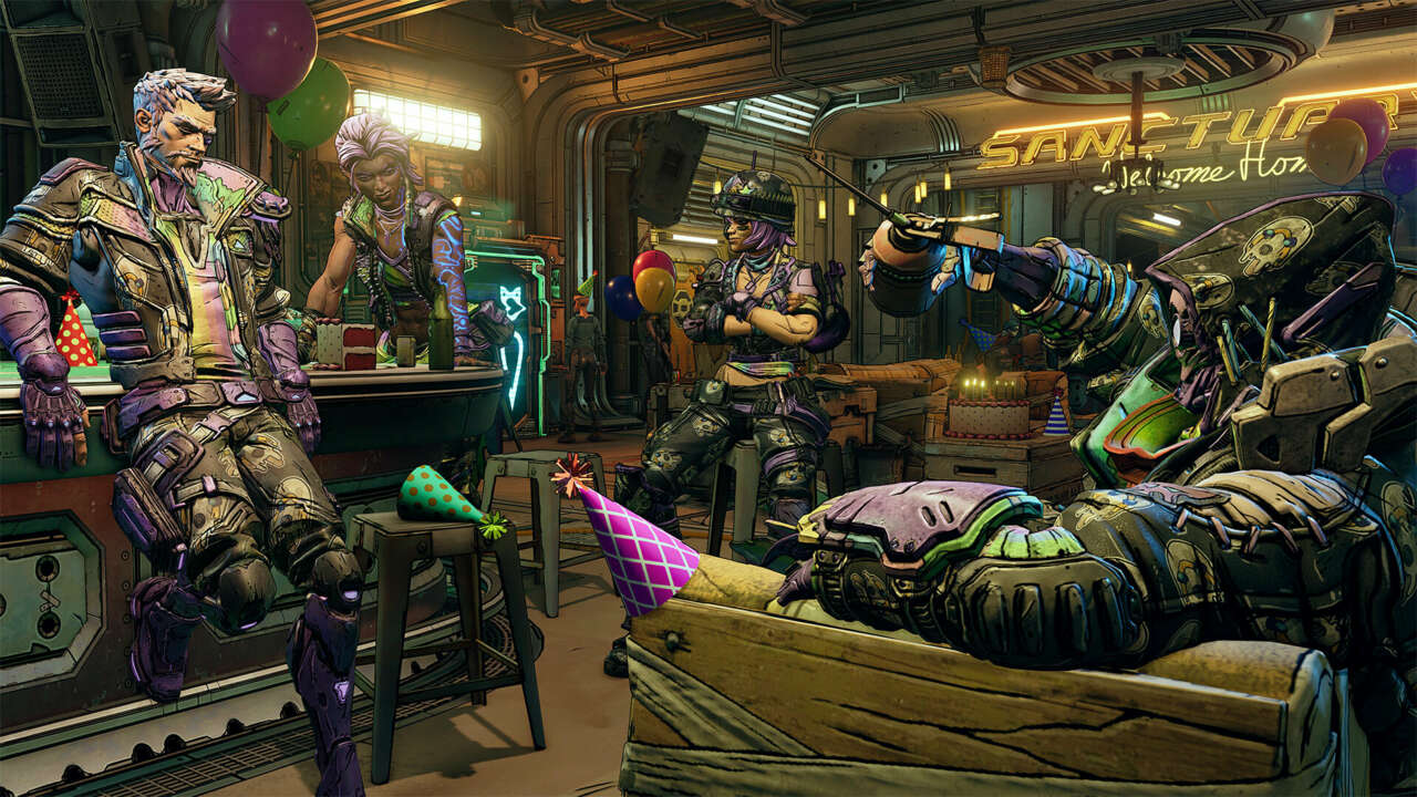 Borderlands 3 Gets A Cake For Its Second Anniversary, And That's No Lie