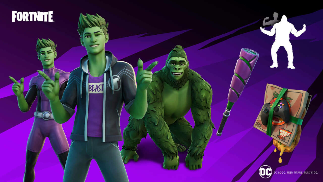 Teen Titans' Beast Boy Is Coming To Fortnite
