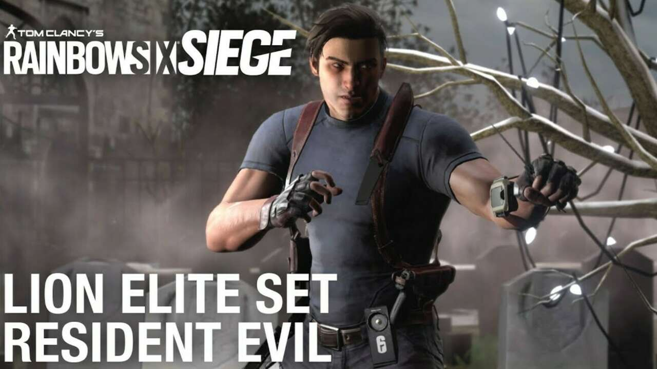 Resident Evil's Leon S. Kennedy Is Now In Rainbow Six Siege (As A Skin)