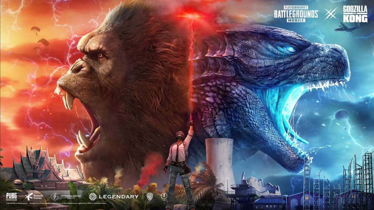 PUBG Mobile Goes Full Kaiju With New Godzilla Vs Kong Content