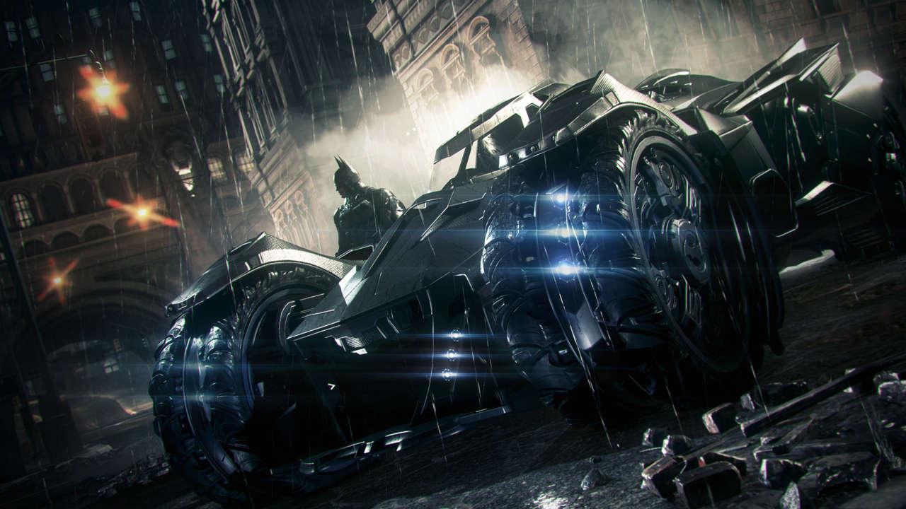 Making the Batmobile Work in Batman: Arkham Knight