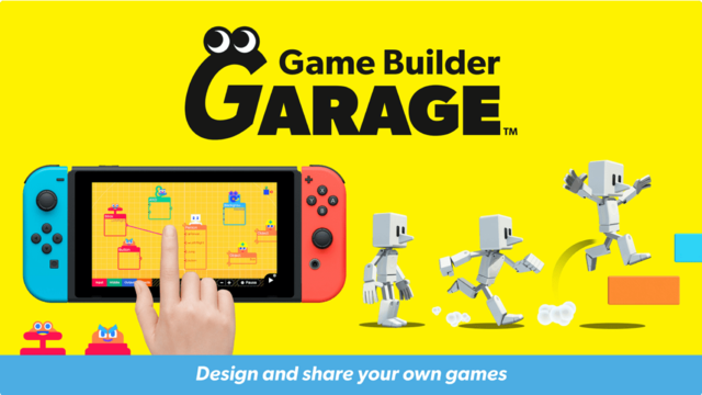 Nintendo Announces Game Builder Garage, A Switch Title That Lets You Create Games