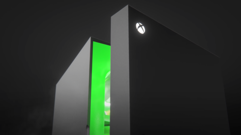 Xbox Series X Fridge Sells Out Immediately, Gets Review-Bombed, And Attracts Huge Scalper Markups