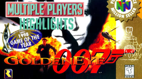 Rocket Launcher Fails and more - GoldenEye 007 Multiple Players Highlights