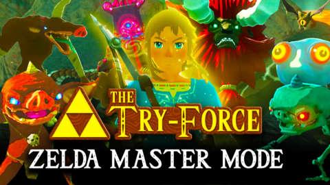 Eventide Island on Master Mode in Zelda Breath of the Wild