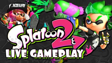 Splatoon 2 Launch Day Squid Massacre Livestream