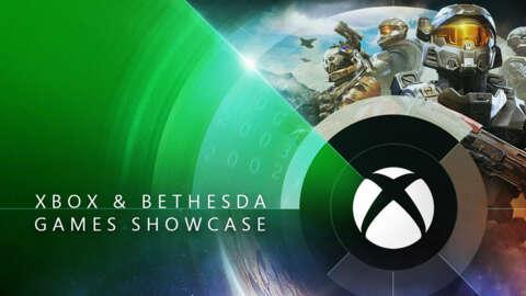 Xbox and Bethesda Games E3 Showcase Live
