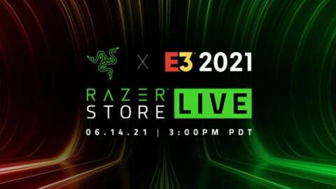 Razer E3 2021 Keynote Live
