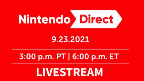 Nintendo Direct Livestream (9.23.21)