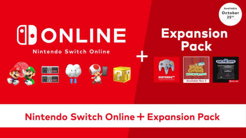 Nintendo Switch Online and Expansion Pack Overview Trailer