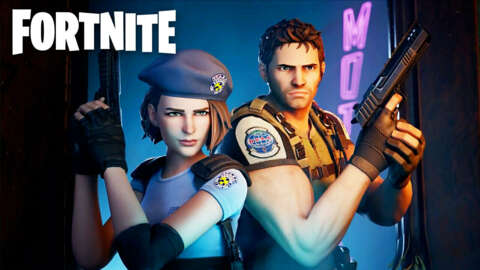 Fortnite X Resident Evil - Jill Valentine and Chris Redfield Join the Fight