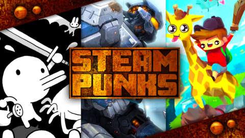 Best PC Games: AirMech Strike, Minit, Train Valley 2, The Adventure Pals   Steam Punks