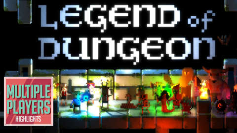 Legend of Dungeon Gameplay - Multiple Players Highlights
