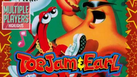 ToeJam & Earl in Panic on Funkotron Gameplay - Multiple Players Highlights