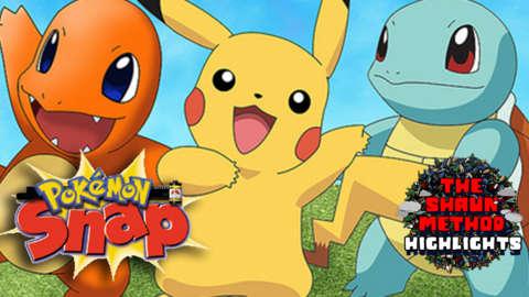 Pokemon Snap Gameplay - The Shaun Method Highlights