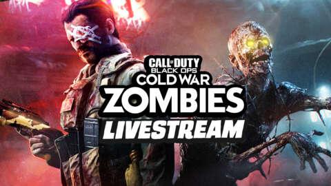 COD Zombies New Map: Mauer Der Toten Livestream