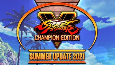 Street Fighter V Summer Update 2021