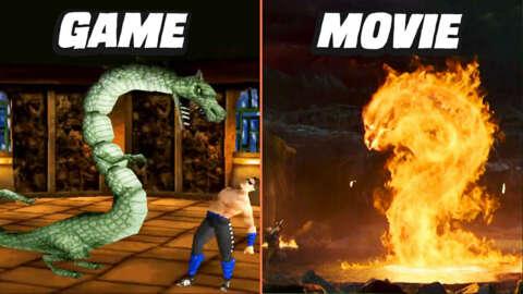 Mortal Kombat Movie vs Game Fatalities