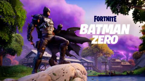 Batman Zero Arrives to the Fortnite Island