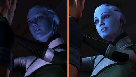 Mass Effect 1 Liara Romance Scene - Original VS Legendary Edition Comparison