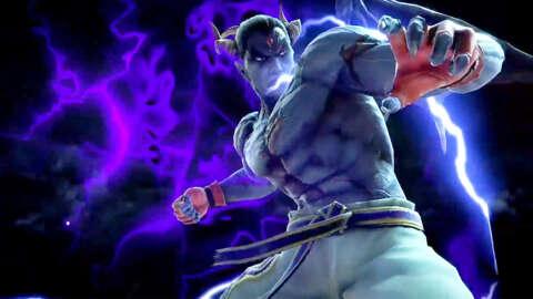 Kazuya Mishima Full Smash Bros Ultimate Reveal | Nintendo E3 2021