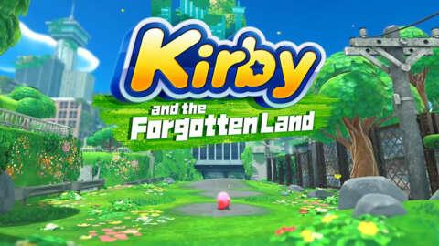 Kirby and the Forgotten Land Trailer   Nintendo Direct September 2021