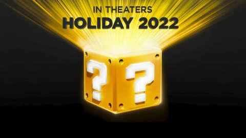 Mario Animated Film Update   Nintendo Direct September 2021