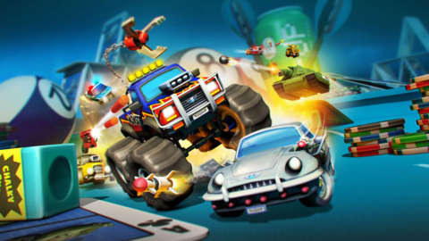 Racing Through The Breakfast Table In Micro Machines: World Series - Let's Play