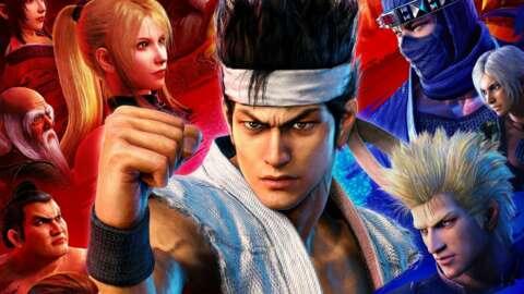 Sega Has No Virtua Fighter 6 Plans Yet