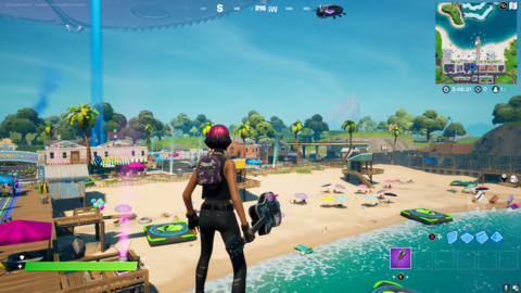 Fortnite: Where To Place Boomboxes In Believer Beach