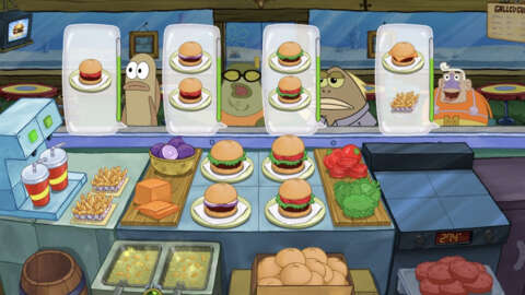 Spongebob Squarepants Mobile Game Krusty Cook-Off Makes Surprise Jump to Nintendo Switch