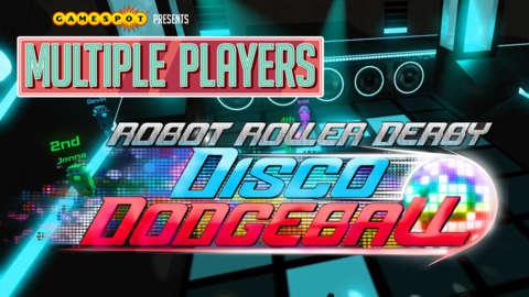 Robot Roller Derby Disco Dodgeball - Multiple Players