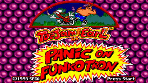 ToeJam & Earl in Panic on Funkotron - Multiple Players