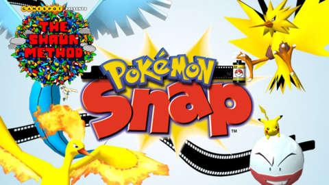 Pokémon Snap - The Shaun Method