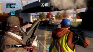 Watch Dogs - 9 Minute Multiplayer Gameplay Demo