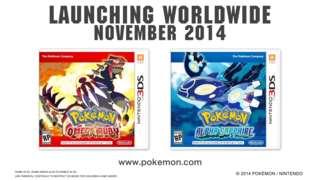 Pokemon Alpha Sapphire/Omega Ruby - Announcement Trailer