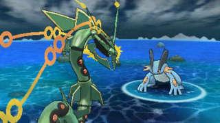 Pokemon Alpha Sapphire/Omega Ruby - Mega Rayquaza Trailer