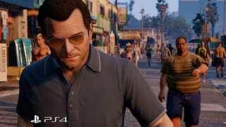 Grand Theft Auto V - PS3 to PS4 Comparison Trailer