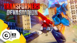 Transformers: Devastation - E3 2015 Announcement Teaser Trailer