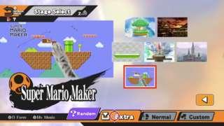 Super Smash Bros. - Super Mario Maker Stage Incoming