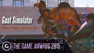 Goat Simulator Super Secret Teaser Trailer - The Game Awards 2015