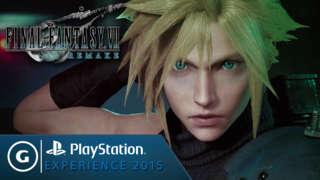 Final Fantasy 7 Remake - First Gameplay Trailer