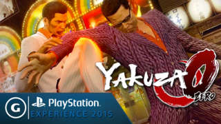 Yakuza 0 Reveal Trailer - PSX 2015