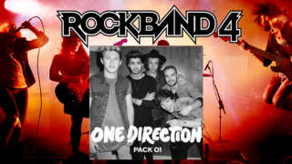 Rock Band 4 - One Direction DLC