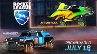 Rocket League - Aftershock and Marauder Trailer