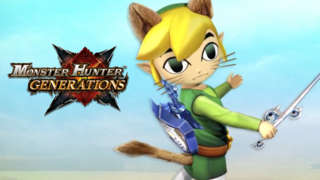 Monster Hunter Generations x The Legend of Zelda: Wind Waker Trailer
