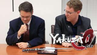 Yakuza 0 - American Yakuza Business Card Scene